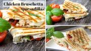 Chicken Bruschetta Quesadillas 1017707 By Divascancook