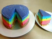 How To Make A Rainbow Cheesecake