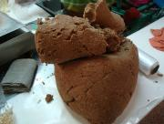 Cocoa Shortbread Dough