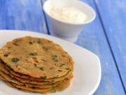 Vegetable Parathas Healthy Kids