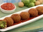 Broccoli And Potato Balls By Tarla Dalal