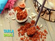 Dry Red Garlic Chutney