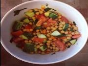Cucumber Tomato And Chickpea Salad