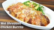 Wet Shredded Chicken Burrito Recipe W Vegetarian Variation Crock Pot Recipe 1018259 By Cookingwithcarolyn