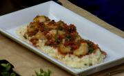 Crispy Scallop Ceviche With Meyer Lemon Risotto