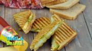 Potato Cheese Grilled Sandwich 1015185 By Tarladalal