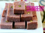 Strawberry Burfi