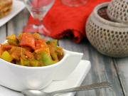 Coloured Capsicum And Paneer Subzi Healthy Subzi By Tarla Dalal