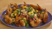 Crispy Coconut Shrimp With Habanero Mango Salsa 1015990 By Grateandfull