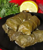 Bulgarian Grape Leaf Rolls