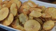 Homemade Potato Chips With Roasted Garlic 1019782 By Cookingitalianwithjoe