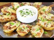 Bbq Chicken And Bacon Loaded Potato Skins Crock Pot Bbq Chicken 1015118 By Cookingwithcarolyn