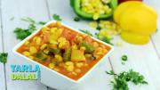 Corn Capsicum Recipe In Hindi 1019836 By Tarladalal