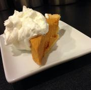 Pumpkin Chiffon Pie With Bourbon
