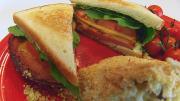Southern Fried Bologna Sandwich