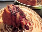 Blueberry Yogurt Cake And Cube Steak In Gravy