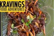 Stir Fry Ginger Beef With Shemeji Mushrooms