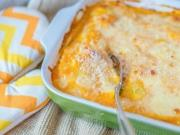 Cheesy Stuffed Pumpkin Shells Recipe