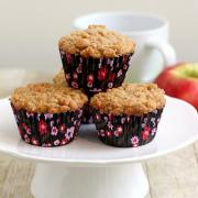 Crunch Apple Muffins
