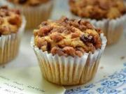Spiced Raisin Mini Muffins