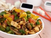 Paneer Mushroom And Cashew Stir Fry By Tarla Dalal