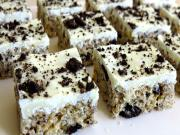 Cookies Cream Rice Krispie Treats