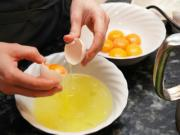 Separate Egg Yolks