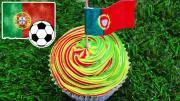 Portugal Cupcake