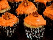 Pumpkin Cupcakes For Thanksgiving