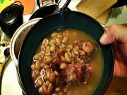 South Texas Pinto Beans Smoked Pork Neck Bones