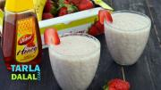 Strawberry Banana Smoothie 1012482 By Tarladalal