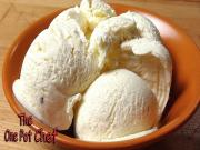 3 Ingredient Vanilla Bean Ice Cream