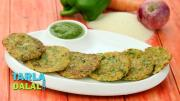 Mini Rava Vegetable Pancakes 1019835 By Tarladalal