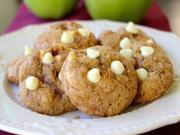 How To Make Apple Pie Cookies Apple Cinnamon White Chocolate Cookies