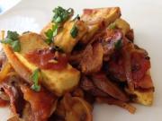 Tofu Mushroom Fry