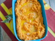 Horseradish Mashed Sweet Potatoes
