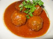 Appetizer Meatballs In Sauce