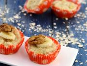 Banana Walnut Muffins Healthy Snacks For Kids By Tarla Dalal