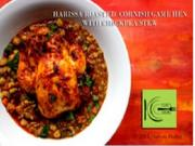 Harissa Roasted Game Hen