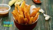 Baby Corn Fritters Fried Baby Corn 1017720 By Tarladalal