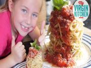 Spaghetti Bolognese Sandcastle
