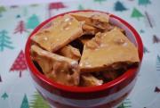 Vanilla Peanut Brittle