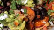 Vegetarian Sweet Potato Nachos 1005829 By Videojug