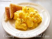 Creamy Fluffy Scrambled Eggs