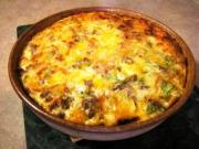 Crab Spinach Egg Casserole