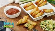 Cheesy Spring Onion Cigars