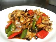 Stir Fry Sea Bass