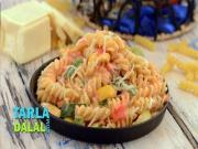 Herbed Fusilli In Pink Sauce
