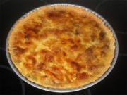 Savory Onion Cheese Tart