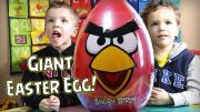 Kid Candy Review New 2015 Angry Birds Giant Surprise Easter Egg